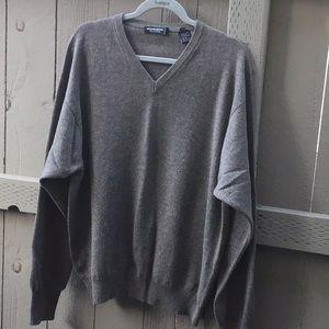 Richard Waithe Men's Cashmere Sweater Top